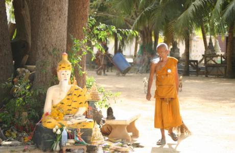 Тайланд, монастырь...